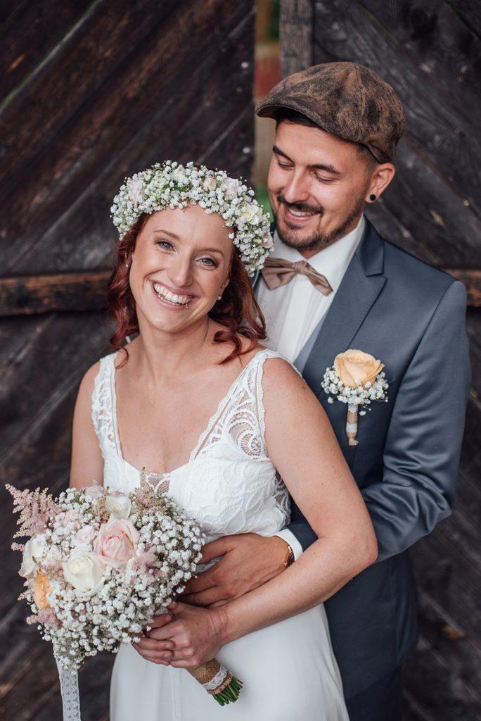Hochzeit von Anna und Matthias/Burgruine Dobra/Niederösterreich