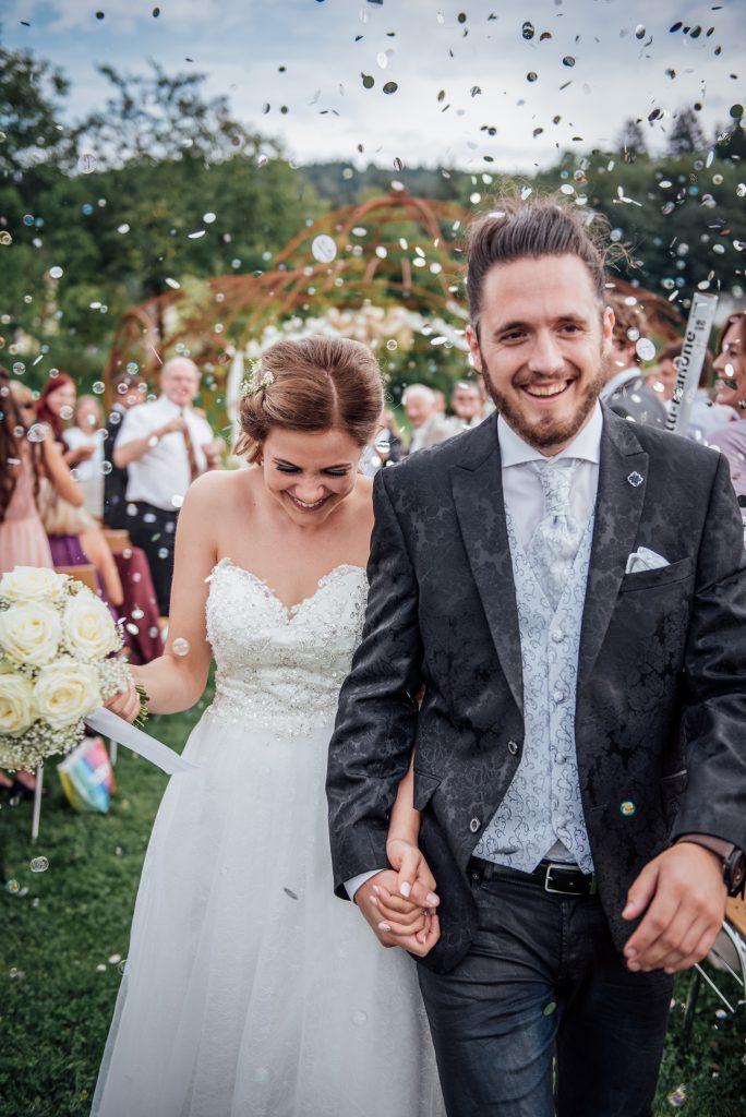 Hochzeit von Ruth und Emanuel im Stift St.Georgen/Kärnten