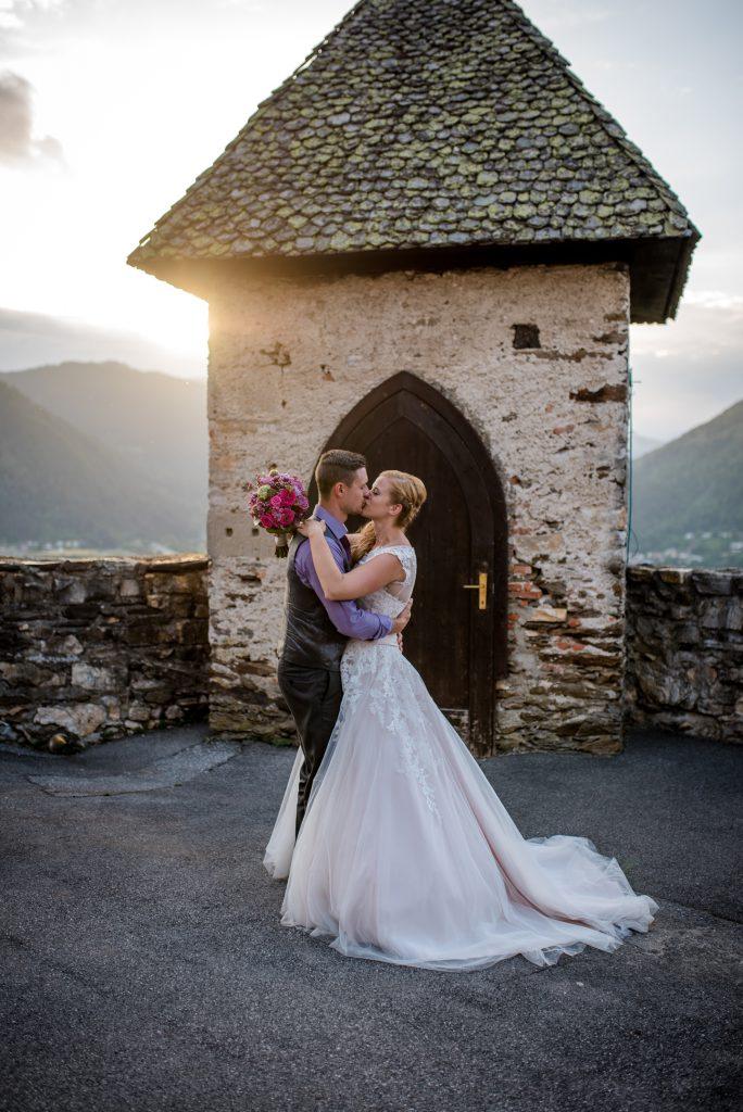 Hochzeit von Jacqueline und Manuel im Stift Ossiach-Burg Landskron/Kärnten