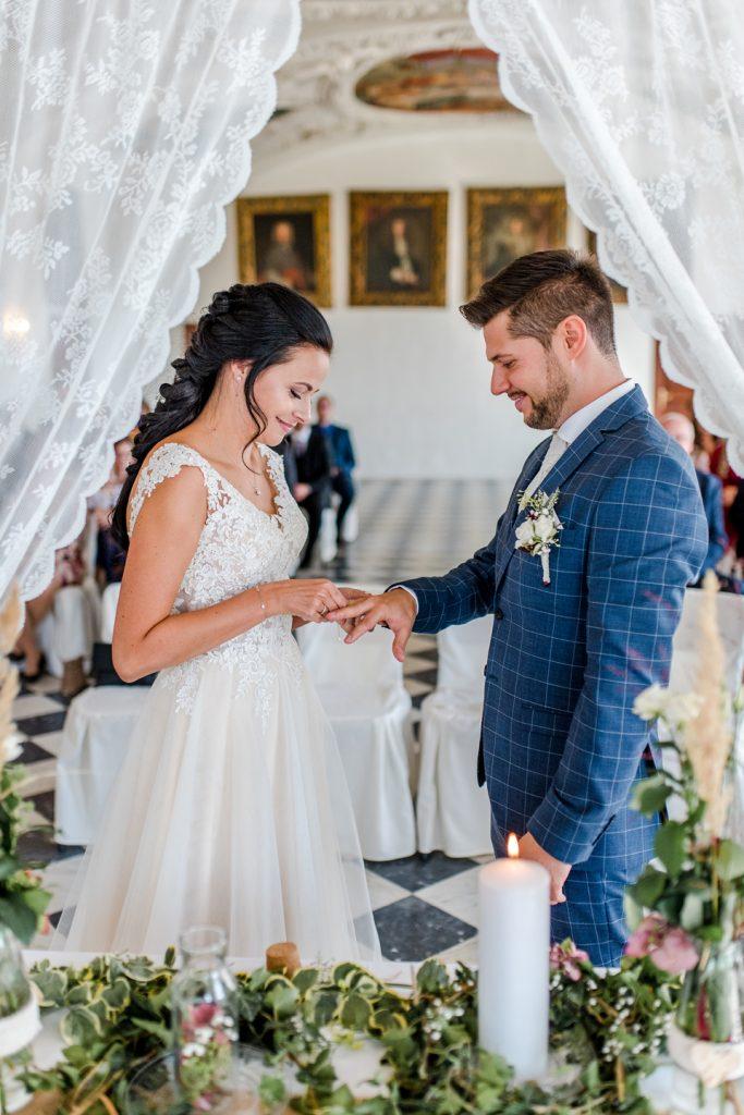 Hochzeit von Corina und Gabriel im Schloss Stainz/Steiermark